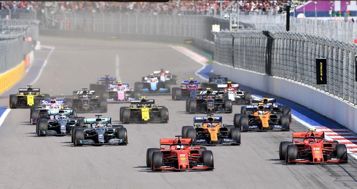 GP da Rússia de F1: reveja o AO VIVO da corrida em Sochi