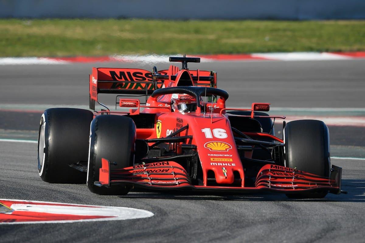 Leclerc Queria Usar Outro Numero Em Seu Carro F1 F1mania