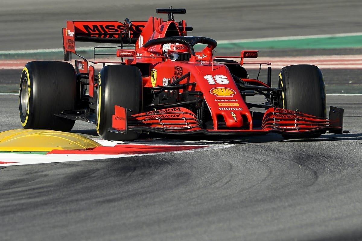 Charles Leclerc E Sebastian Vettel Tambem Farao Testes Privados Com A Ferrari F1 F1mania