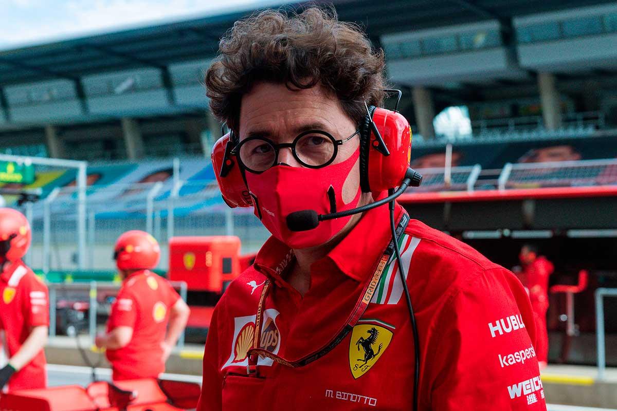 Binotto não deve estar presente no GP da Estíria de F1