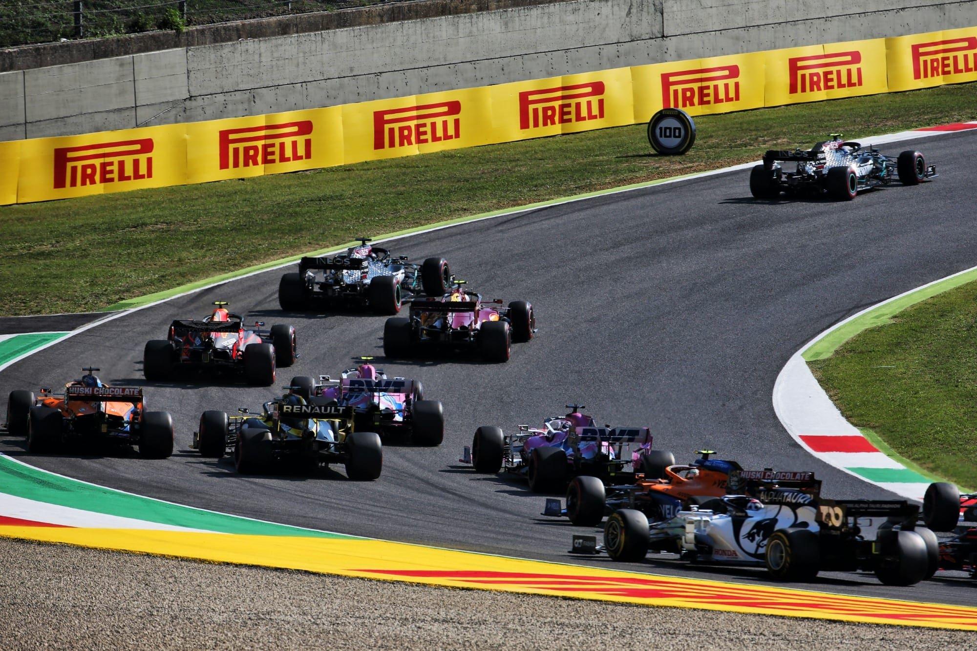 Largada - GP da Toscana F1 2020