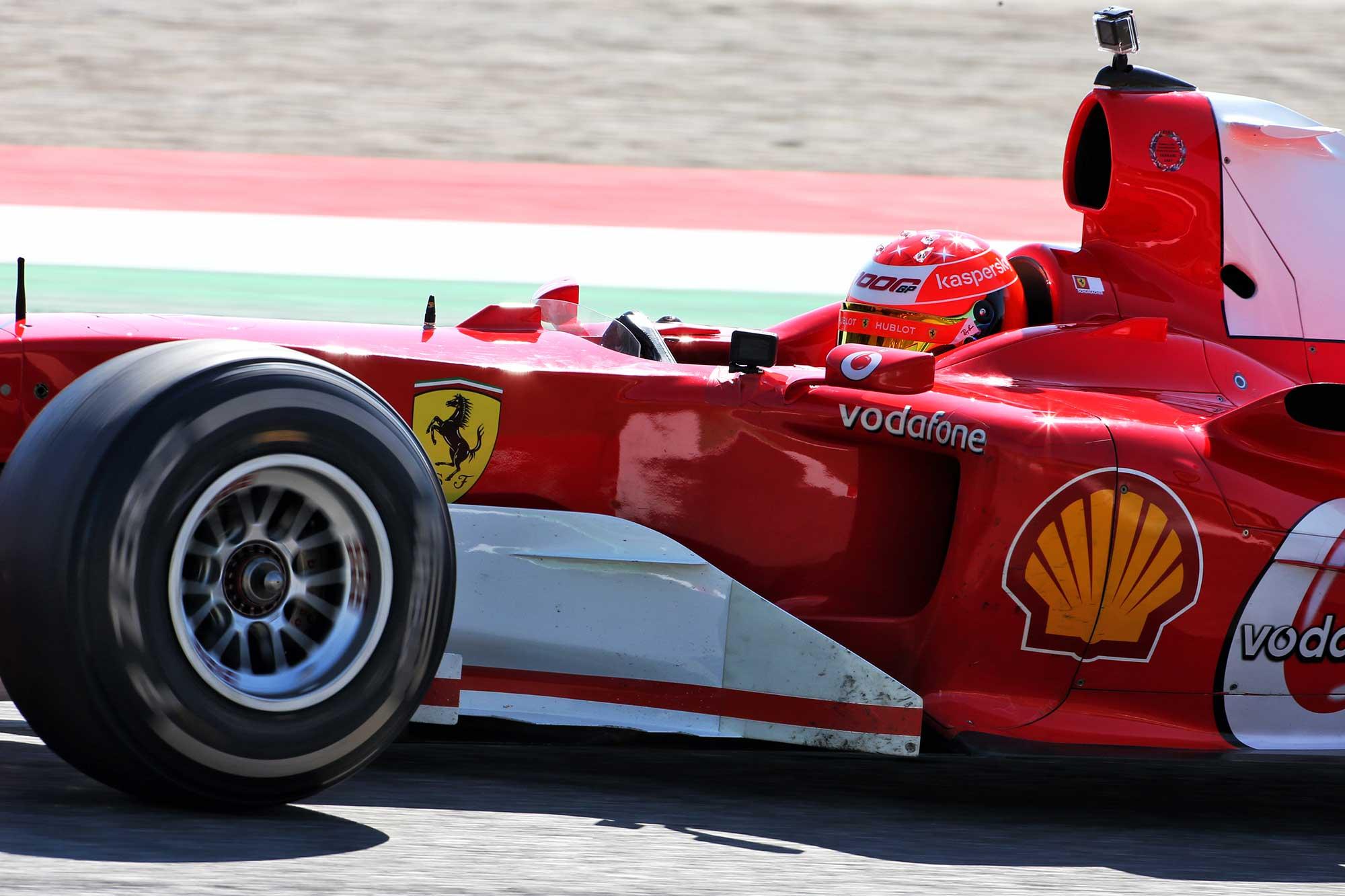 Filho De Michael Schumacher Pilota Ferrari De 2004 Em Mugello F1 F1mania