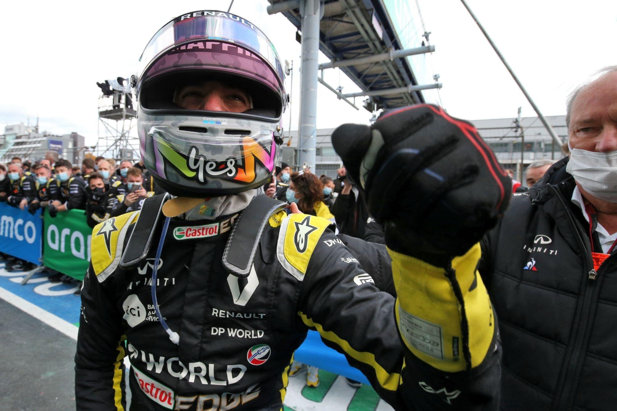 Ricciardo Confiante Em Outro Podio Antes De Sair Da Renault F1 F1mania