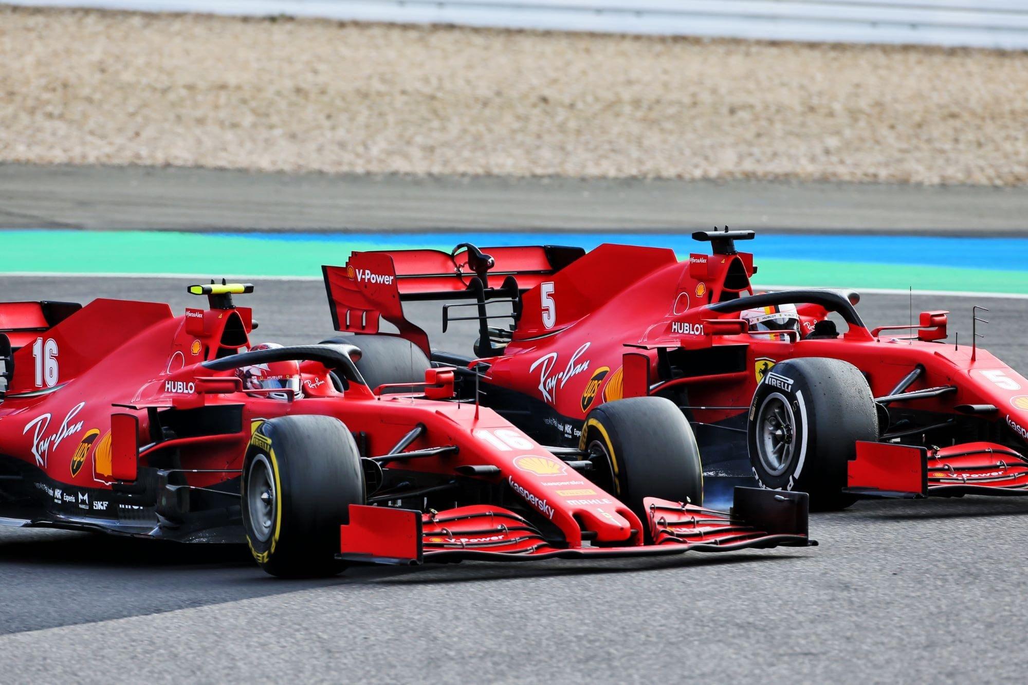 Leclerc Fala Sobre Recuperacao Da Ferrari F1 F1mania