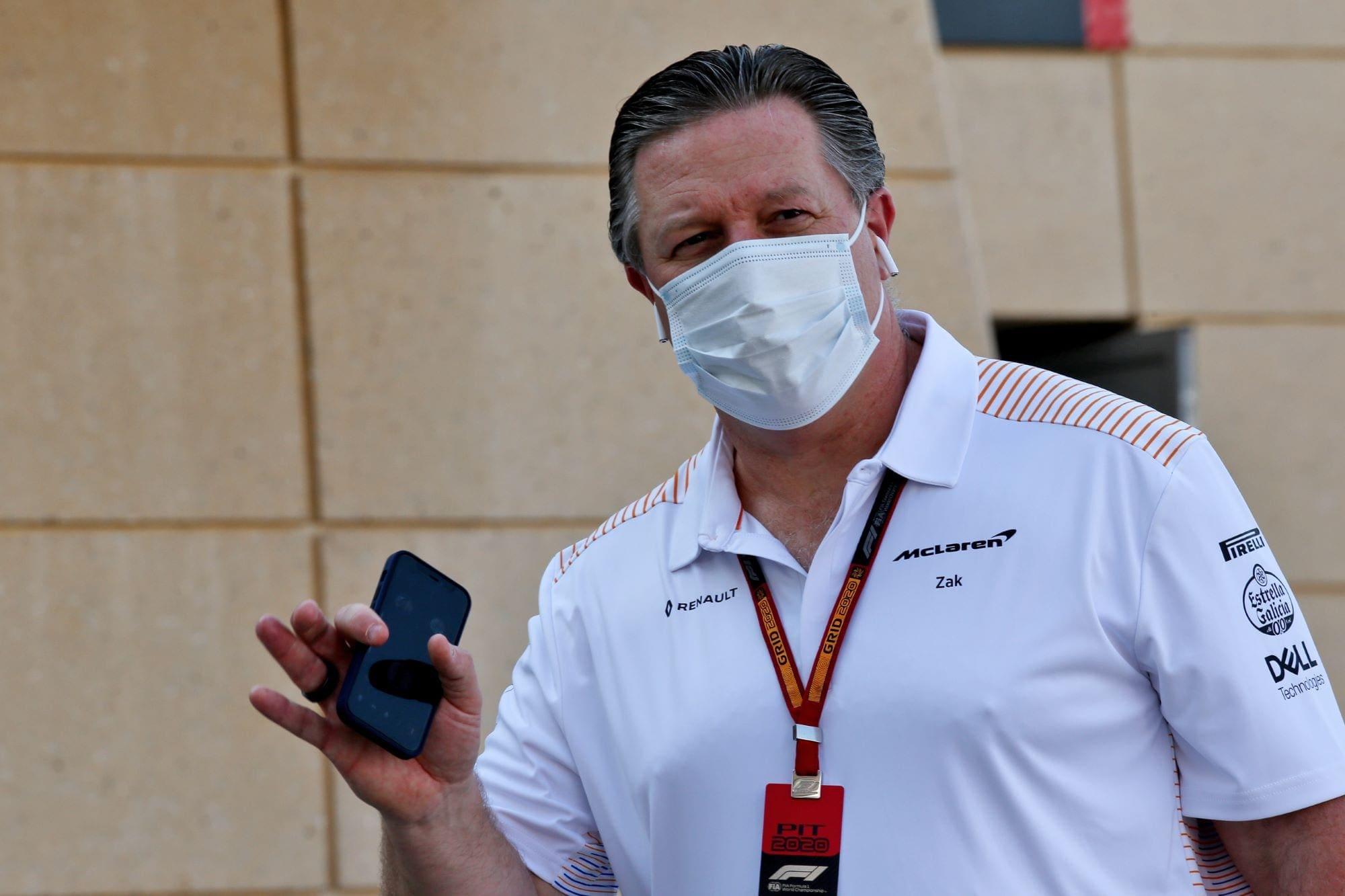 """Brown: """"Novos projetos não prejudicarão o programa de F1"""""""