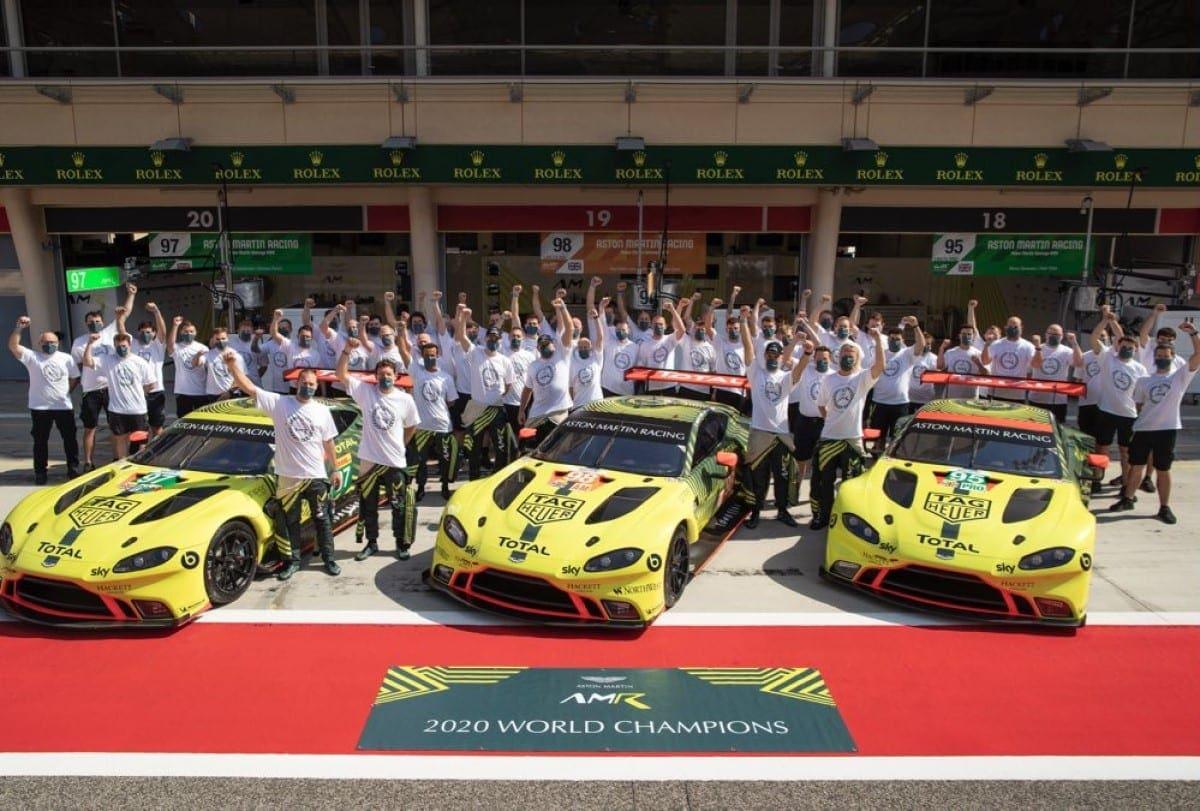 Aston Martin Anuncia Fim Do Programa De Fabrica De Corrida Gt Wec F1mania