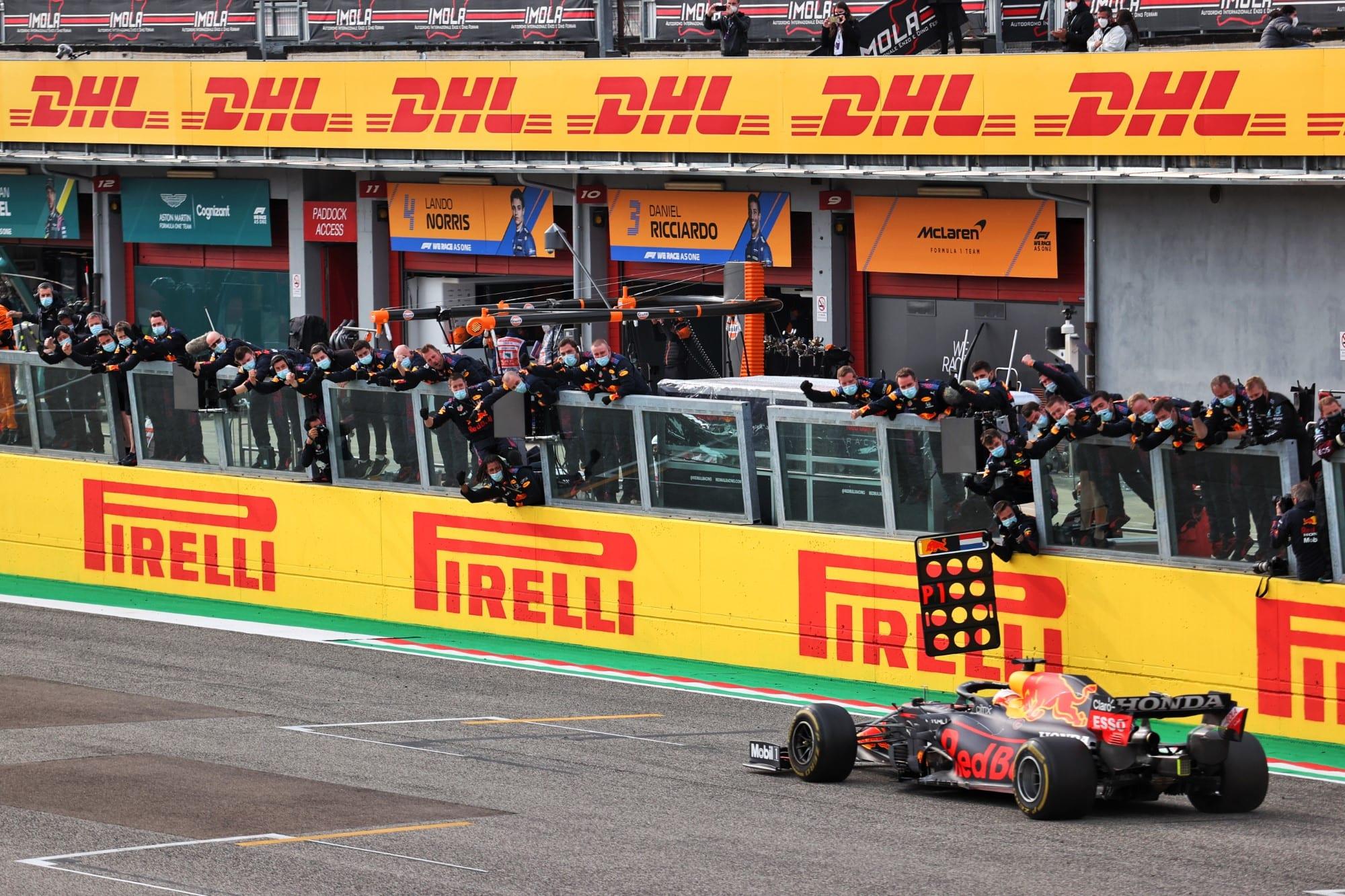 Max Verstappen (Red Bull) GP da Emília-Romanha F1 2021