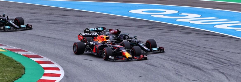 Largada - GP da Espanha F1 2021