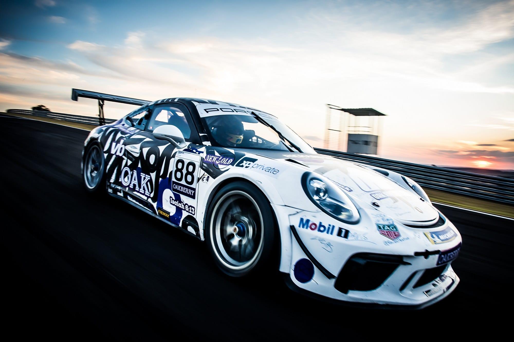 Georgios Frangulis Porsche Cup Velocitta