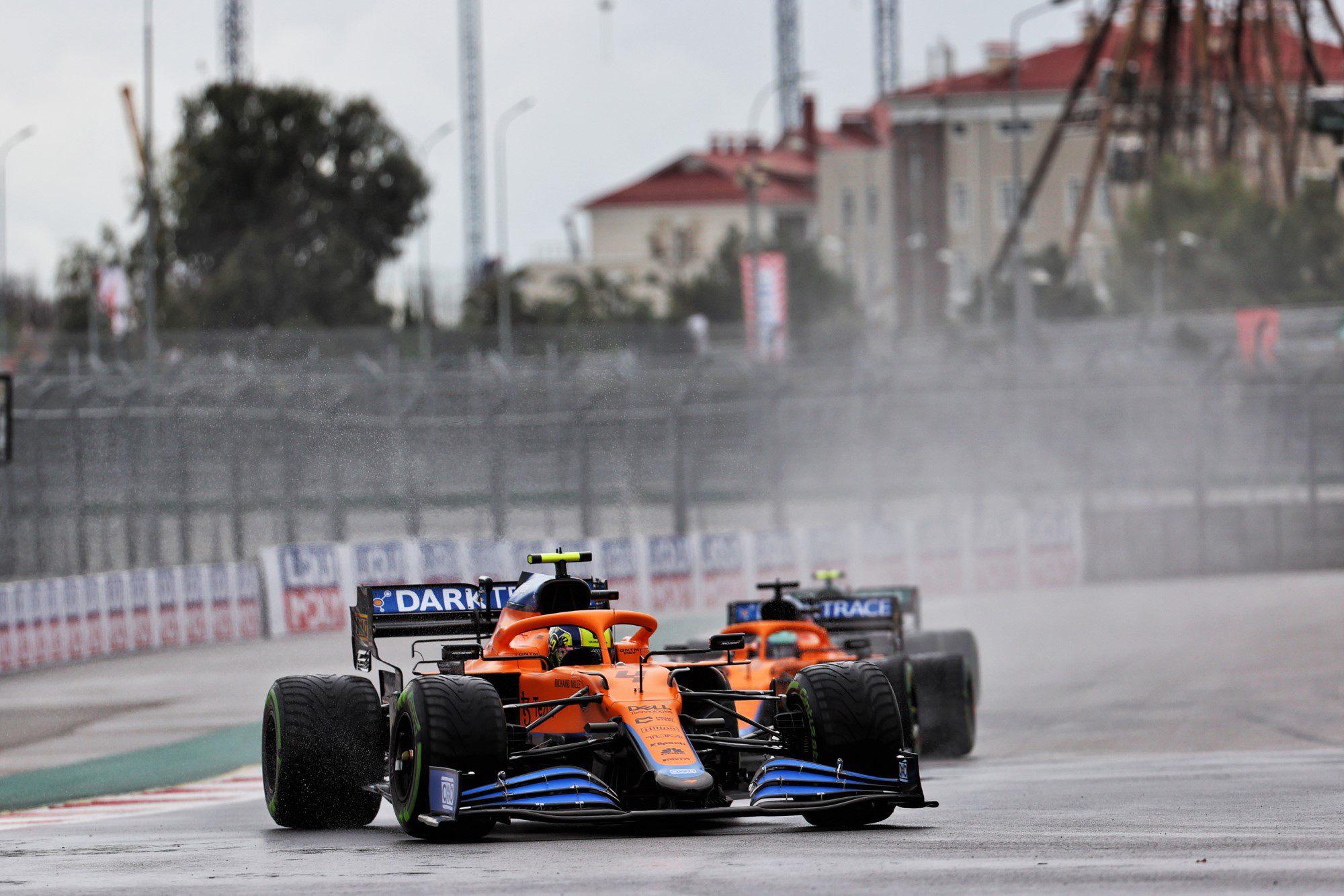 Na Rússia, Norris surpreende e garante sua primeira pole na F1